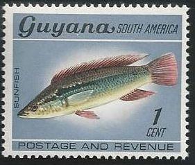 Guyana 1968 Wildlife
