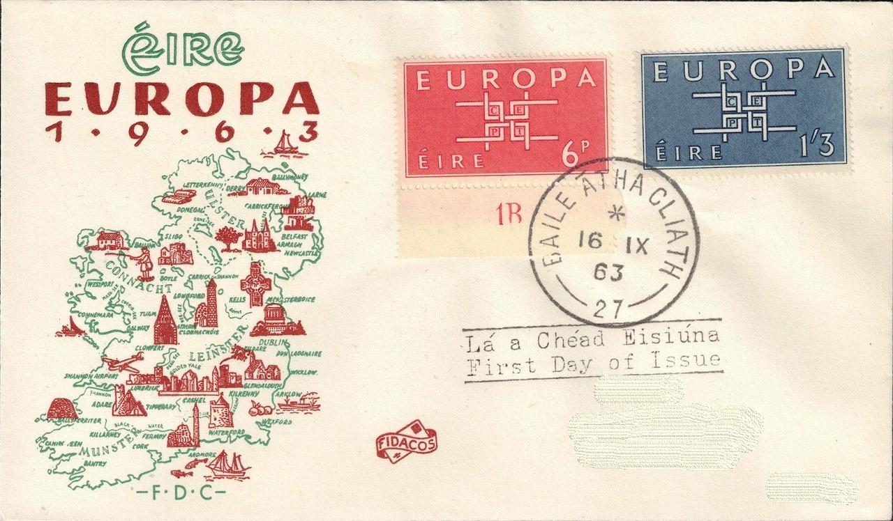 Ireland 1963 Europa FDCb.jpg