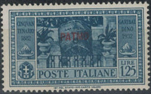 Italy (Aegean Islands)-Patmo 1932 50th Anniversary of the Death of Giuseppe Garibaldi g.jpg