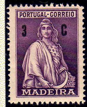 Madeira 1929 Ceres (London Issue)
