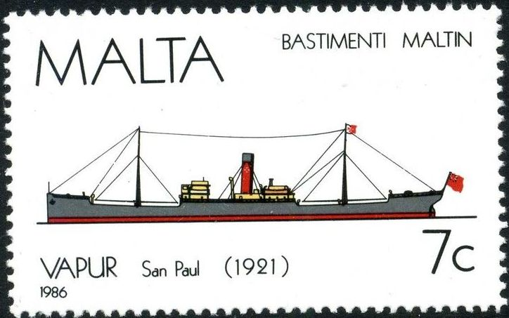 Malta 1986 Maltese Ships (4th Series)