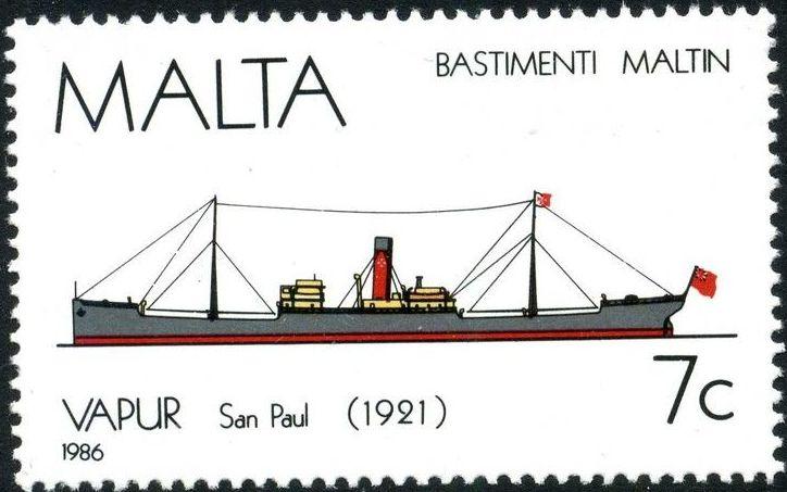 Malta 1986 Maltese Ships (4th Series) a.jpg