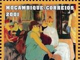 Mozambique 2001 Paintings - Toulouse Lautrec