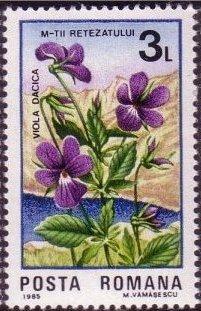 Romania 1985 Retezat National Park, 50th Anniversary d.jpg