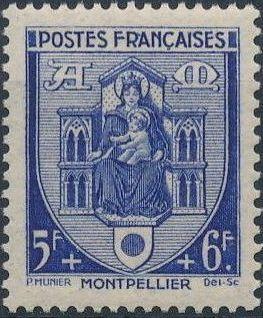 France 1941 Coat of Arms (Semi-Postal Stamps) k.jpg