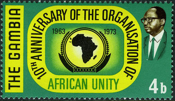 Gambia 1973 10th Anniversary of the OAU