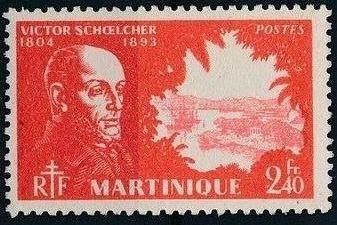 Martinique 1945 Victor Schoelcher l.jpg