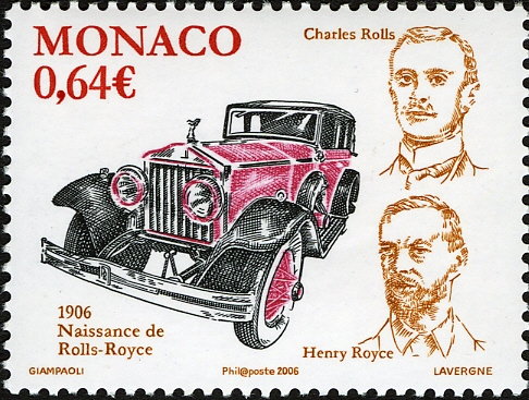 Monaco 2006 Centenary of the creation of the Rolls Royce a.jpg
