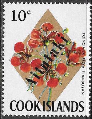 Aitutaki 1972 Flowers from Cook Islands Overprinted AITUTAKI f.jpg