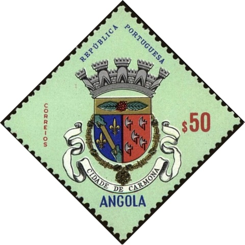 Angola 1963 Coat of Arms - (1st Serie) d.jpg