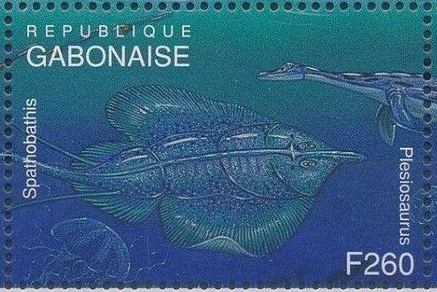 Gabon 1995 Prehistoric Wildlife zi.jpg