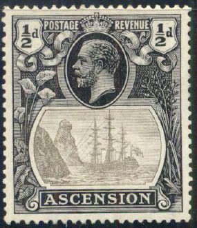 Ascension 1924 Seal of the Colony