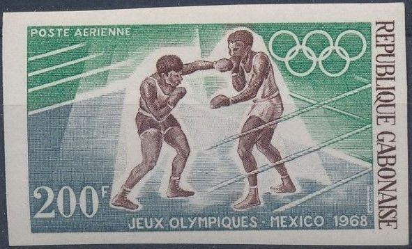 Gabon 1968 19th Summer Olympic Games Mexico City i.jpg