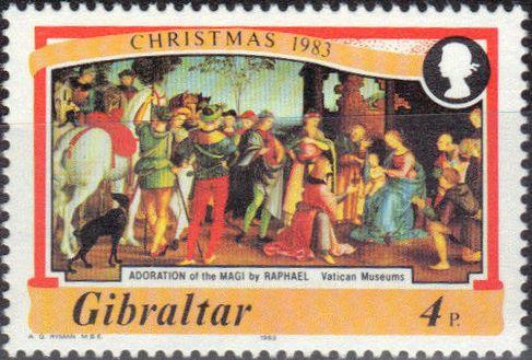 Gibraltar 1983 Christmas