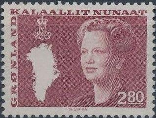 Greenland 1985 Queen Margrethe II