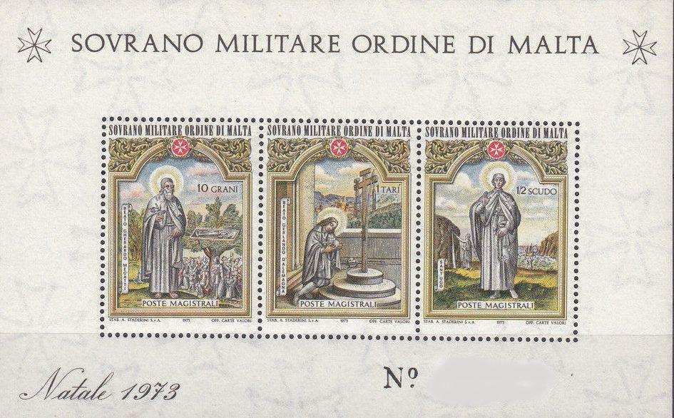 Sovereign Military Order of Malta 1973 Christmas g.jpg