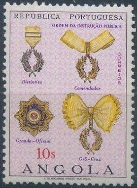 Angola 1967 Portuguese Civil and Military Orders i.jpg