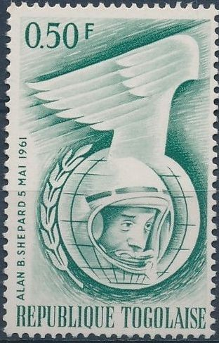 Togo 1962 Astronauts of 1961
