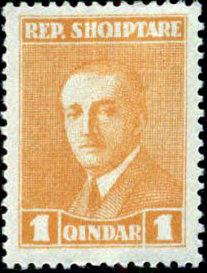 Albania 1925 President Ahmed Zogu