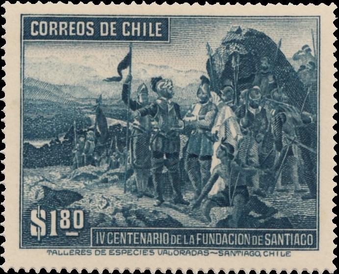 Chile 1941 400th Anniversary of Santiago d.jpg
