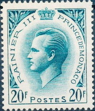 Monaco 1957 Prince Rainier III