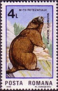 Romania 1985 Retezat National Park, 50th Anniversary e.jpg