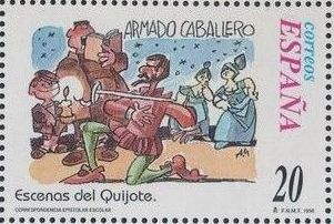 "Spain 1998 Scenes from ""Don Quixote"" c.jpg"