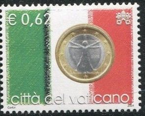 Vatican City 2004 Flags and One-Euro Coins i.jpg