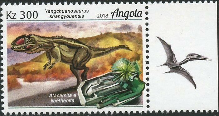 Angola 2018 Wildlife of Angola - Dinosaurs and Minerals