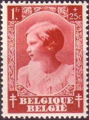 Belgium 1937 Princess Joséphine-Charlotte f.jpg