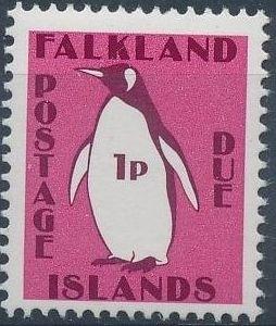 Falkland Islands 1991 Penguins (Postage Due Stamps)