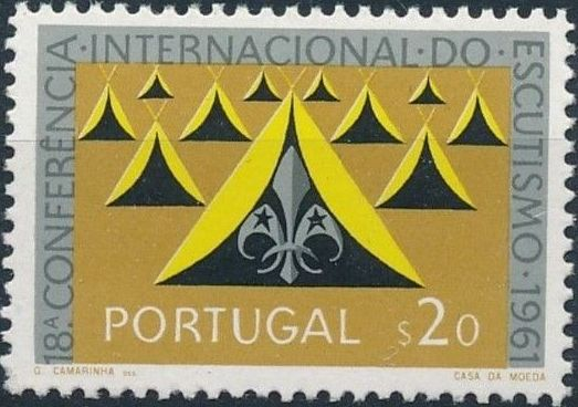 Portugal 1962 18th Boy Scout World Conference