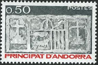 Andorra-French 1983 First Arms of Valleys of Andorra (1st Group) f.jpg