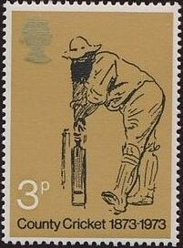 Great Britain 1973 Centenary of British County Cricket