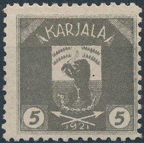 Karelia 1922 Coat of Arms