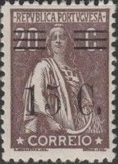 Portugal 1928 Ceres Surcharged h.jpg