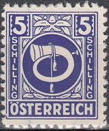 Austria 1945 Posthorn q.jpg