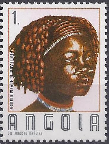 Angola 1987 Traditional Hairstyles
