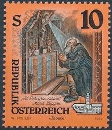 Austria 1994 Artworks from Pens and Monasteries (2nd Group) b1.jpg