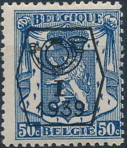 Belgium 1939 Coat of Arms - Precancel (1st Group) f.jpg