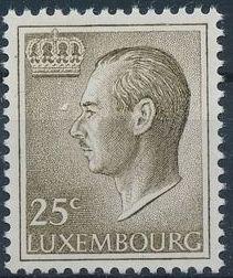 Luxembourg 1966 Grand Duke Jean
