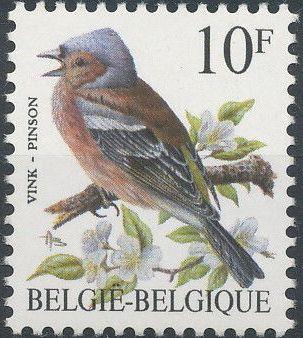 Belgium 1990 Birds (B)
