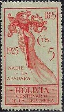 Bolivia 1925 Centenary of the Republic c.jpg