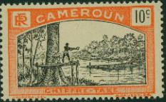 Cameroon 1925 Man Felling Tree c.jpg