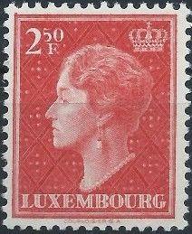 Luxembourg 1951 Grand Duchess Charlotte (3rd Group) e.jpg
