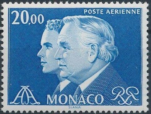 Monaco 1982 Prince Rainier and Prince Albert (Air Post Stamps) d.jpg