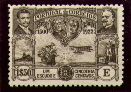 Portugal 1923 First flight Lisbon Brazil 0.jpg