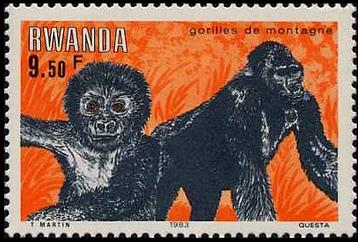 Rwanda 1983 Mountain Gorilla c.jpg
