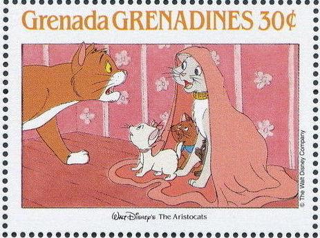 Grenada Grenadines 1988 The Disney Animal Stories in Postage Stamps 6e.jpg