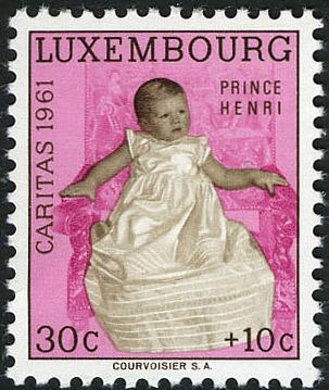 Luxembourg 1961 Prince Henri